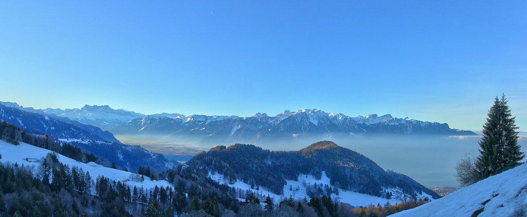 Les Préalpes et les Alpes